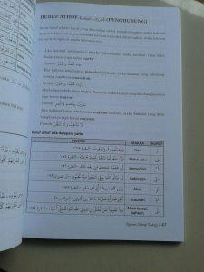 Buku Nahwu Shorof Tadrijy Step By Step Of Gramatical Arabic isi 3