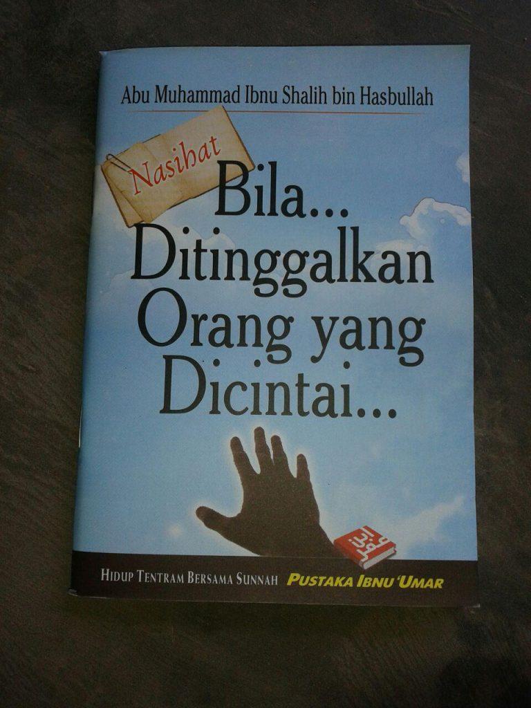 Buku Nasihat Bila Ditinggalkan Orang Yang Dicintai cover 2