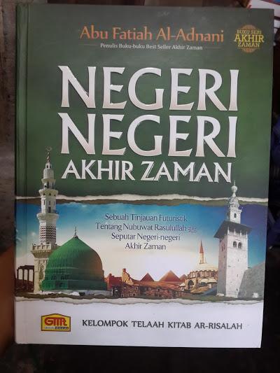 Buku Negeri Negeri Akhir Zaman Cover
