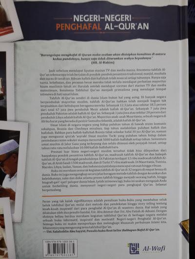 Buku Negeri Negeri Penghafal Al-Qur'an Cover 2