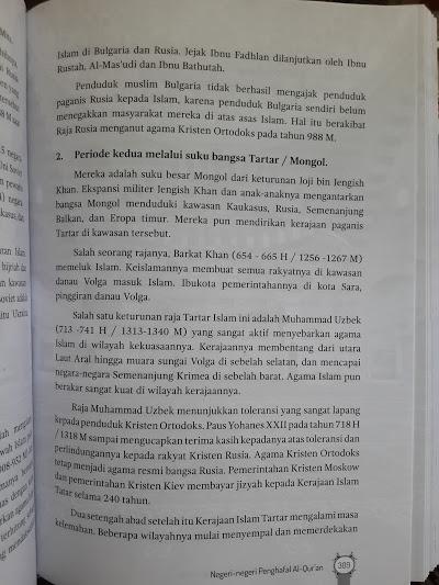 Buku Negeri Negeri Penghafal Al-Qur'an Isi