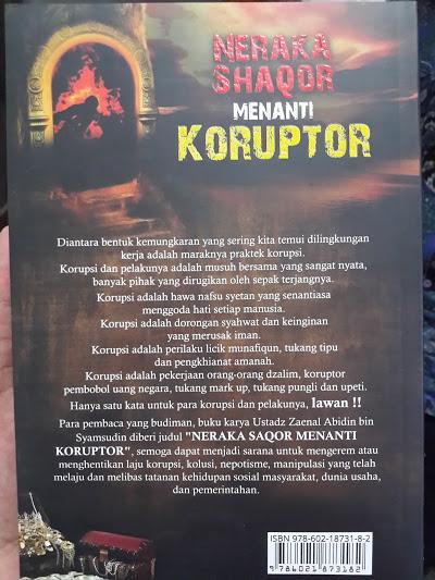 Buku Neraka Saqor Menanti Koruptor Cover 2