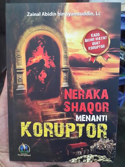Buku Neraka Saqor Menanti Koruptor Cover