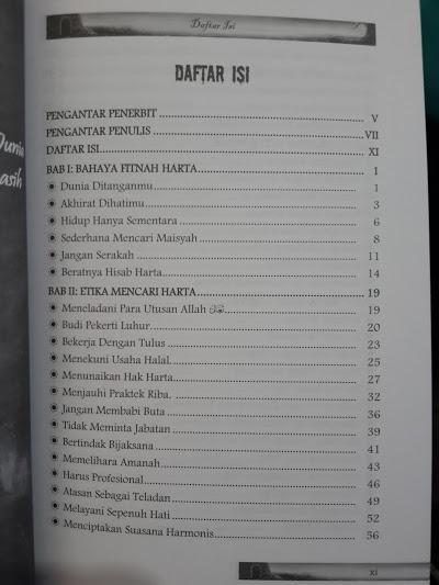 Buku Neraka Saqor Menanti Koruptor Daftar Isi