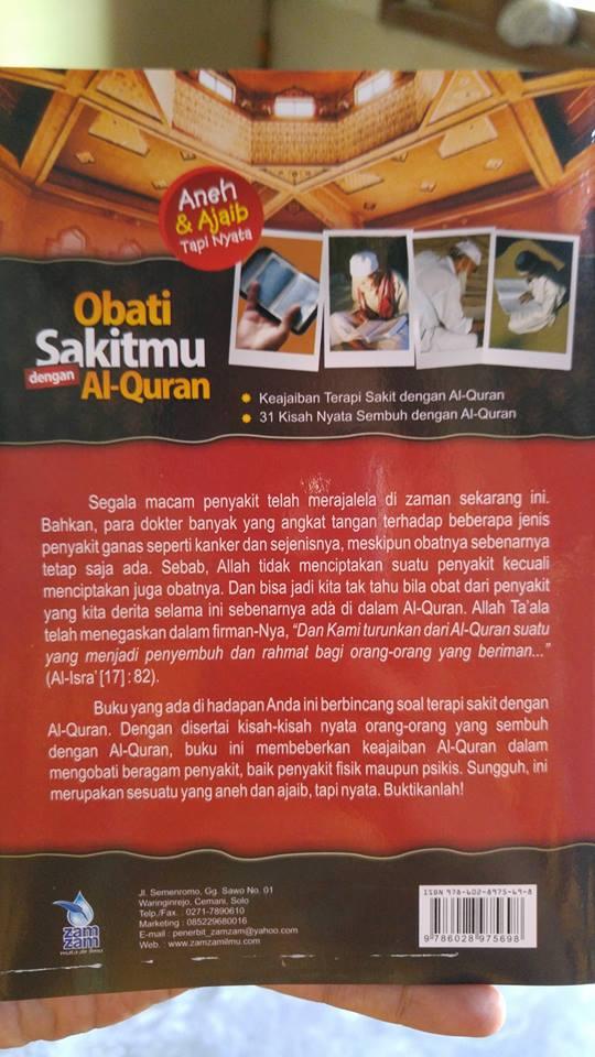 obati sakitmu dengan al-quran buku cover 2