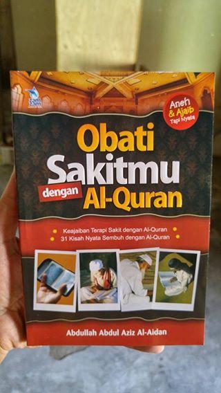 obati sakitmu dengan al-quran buku cover