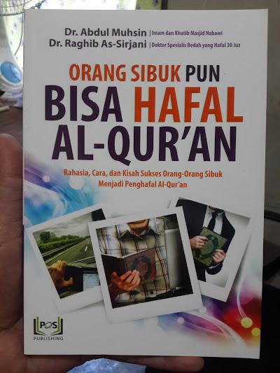 Buku Orang Sibuk Pun Bisa Hafal Al-Qur'an Cover