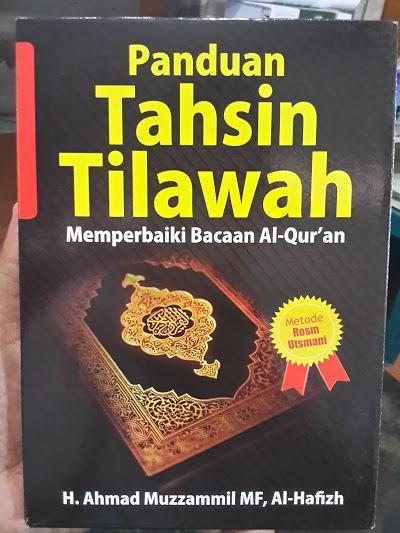 Paket Buku Dan VCD Panduan Tahsin Tilawah Cover