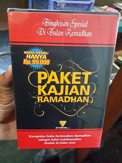 Paket Kajian Ramadhan Kumpulan Buku Tema Ramadhan Depan