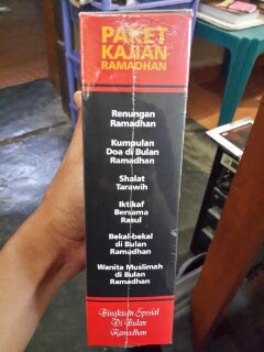 Paket Kajian Ramadhan Kumpulan Buku Tema Ramadhan Samping