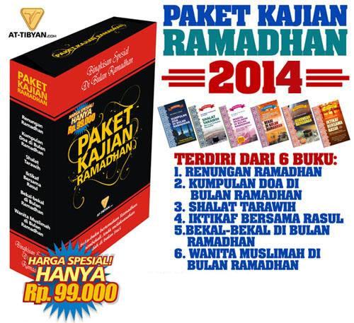 Paket Kajian Ramadhan Kumpulan Buku Tema Ramadhan Brosur
