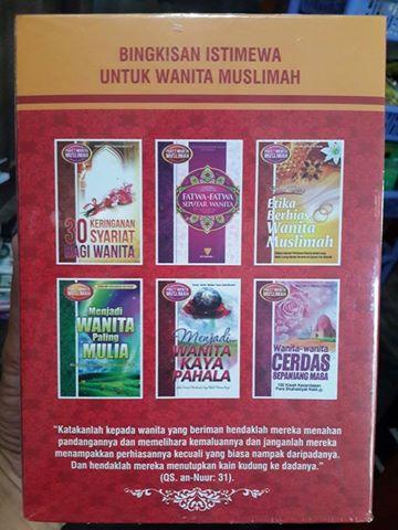 Buku Paket Wanita Muslimah Kumpulan Buku Tema Wanita Cover 2
