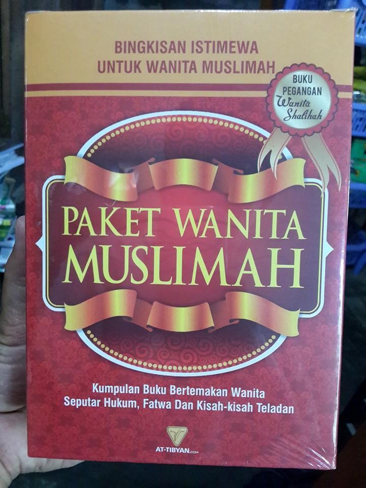 Buku Paket Wanita Muslimah Kumpulan Buku Tema Wanita Cover