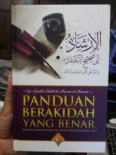 Buku Panduan Berakidah Yang Benar Cover