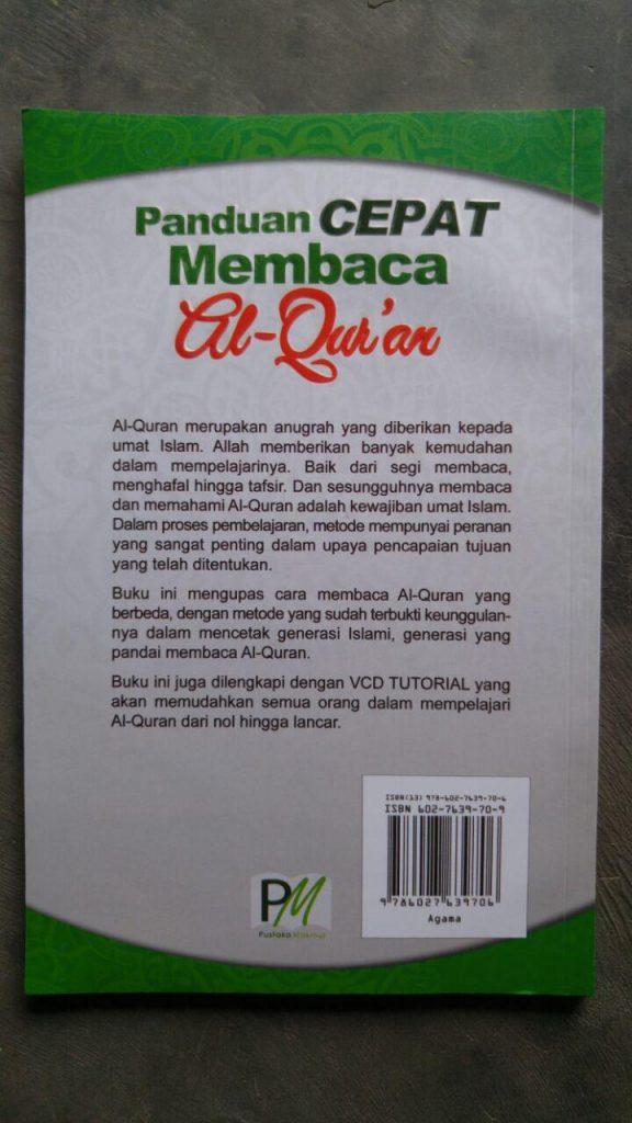 Buku Dan Video CD Tutorial Panduan Cepat Membaca Al-Qur'an cover 2