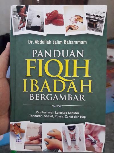 Buku Panduan Fiqih Ibadah Bergambar Cover
