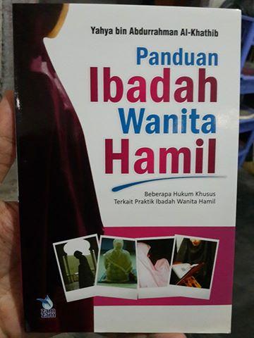 panduan ibadah wanita hamil buku cover
