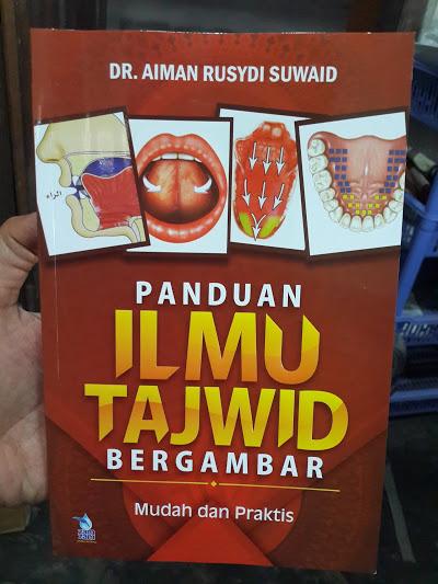Buku Panduan Ilmu Tajwid Bergambar Mudah Dan Praktis Cover