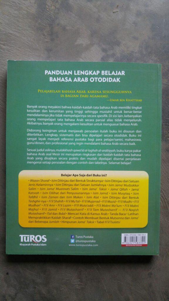 Buku Panduan Lengkap Belajar Bahasa Arab Otodidak 2 Jilid cover 3