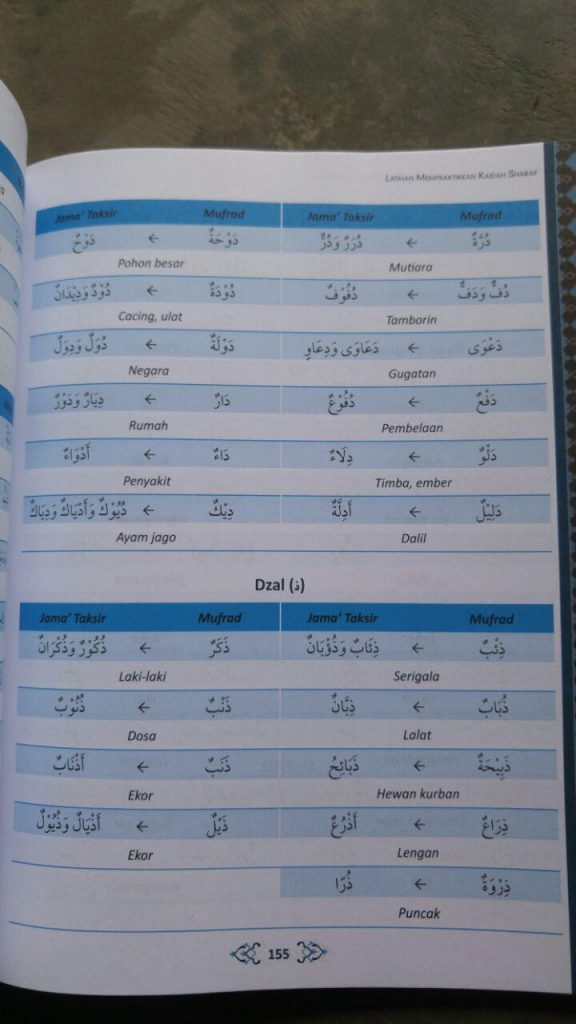 Buku Panduan Lengkap Belajar Bahasa Arab Otodidak 2 Jilid isi