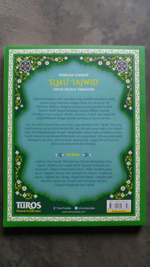 Buku Panduan Lengkap Ilmu Tajwid Untuk Semua Tingkatan cover 2