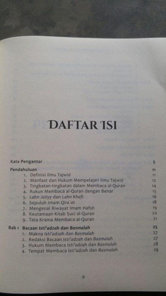 Buku Panduan Lengkap Ilmu Tajwid Untuk Semua Tingkatan isi 3