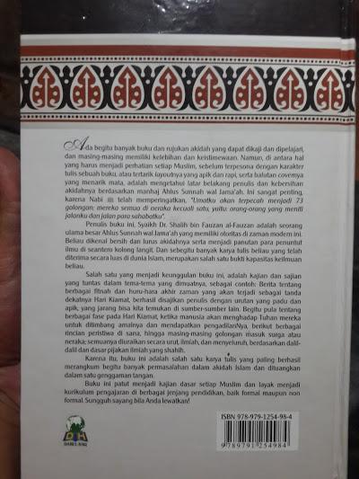 Buku Panduan Lengkap Membenahi Akidah Cover 2