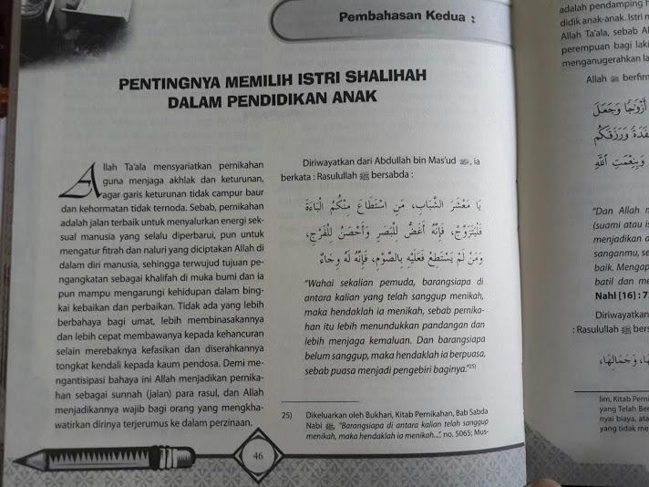 Buku Panduan Lengkap Tarbiyatul Aulad Isi