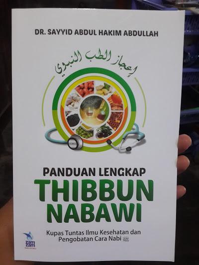 Buku Panduan Lengkap Thibbun Nabawi Cover