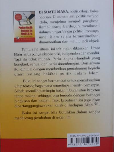 Buku Panduan Memilih Pemimpin Dan Wakil Rakyat Cover 2