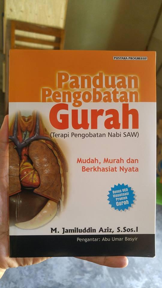 panduan pengobatan gurah buku cover