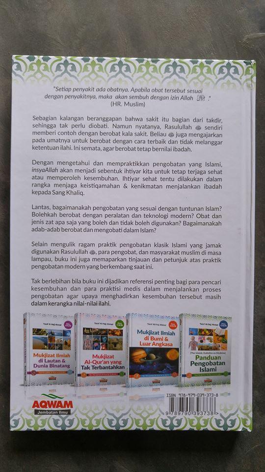 Buku Panduan Pengobatan Islami Seri Keajaiban Quran & Hadits cover 2
