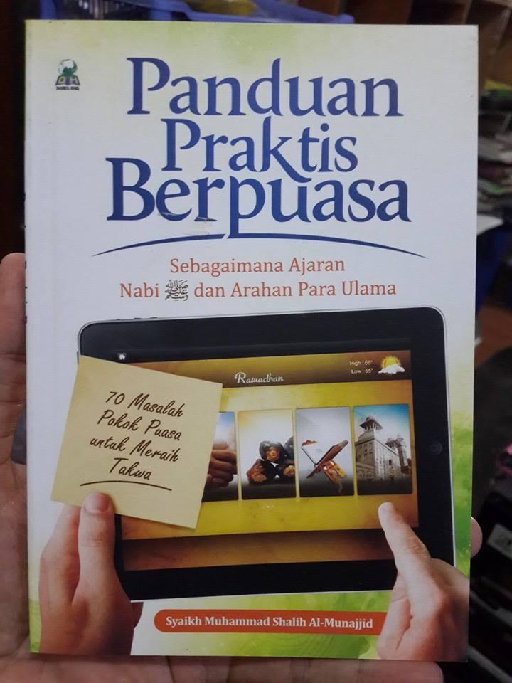 Buku Panduan Praktis Berpuasa Sebagaimana Ajaran Nabi Cover