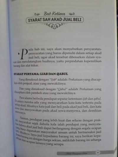 Buku Panduan Praktis Fikih Perniagaan Islam Isi