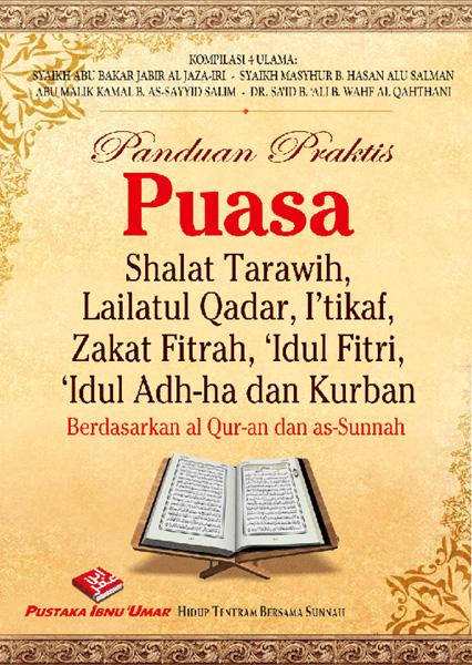Buku Panduan Praktis Puasa Itikaf Zakat Fitrah Ied Kurban Cover