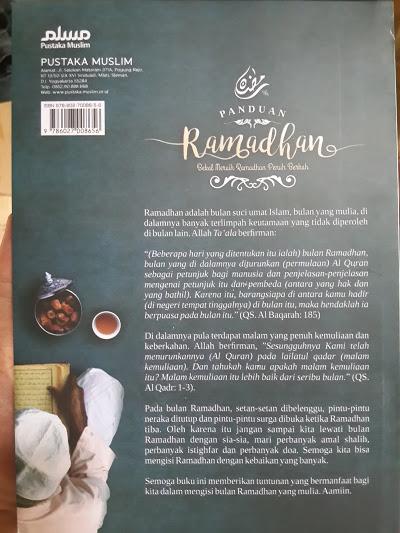 Buku Panduan Ramadhan Bekal Meraih Ramadhan Penuh Berkah Cover 2