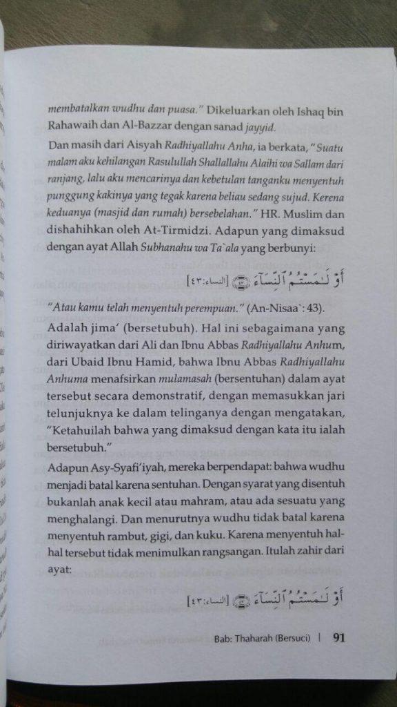 Buku Panduan Shalat Lengkap Menurut Empat Madzhab isi 2