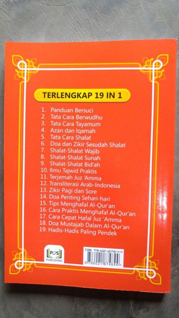 Buku Panduan Shalat Lengkap Terjemah Juz Amma Hadis Pilihan cover 2