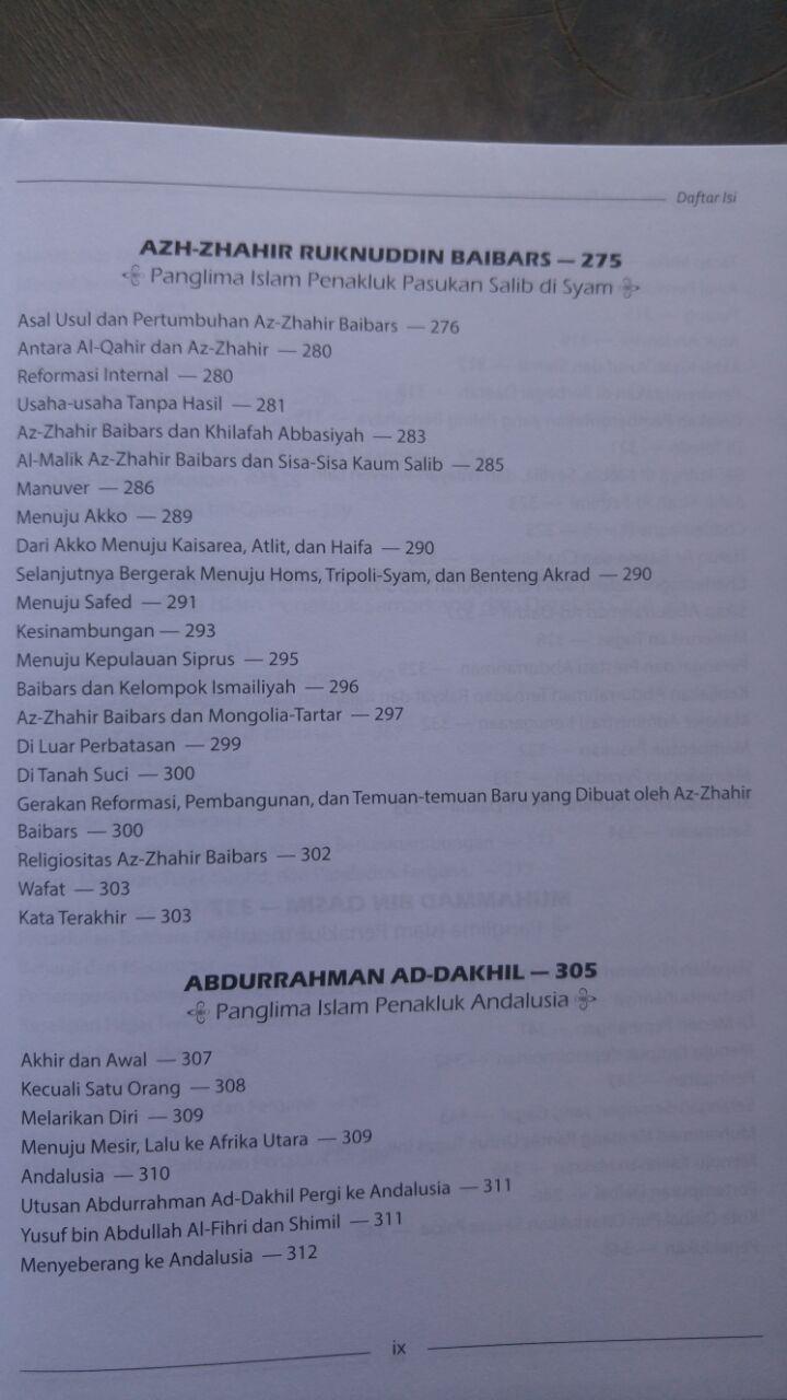 Buku Para Panglima Islam Penakluk Dunia isi 2