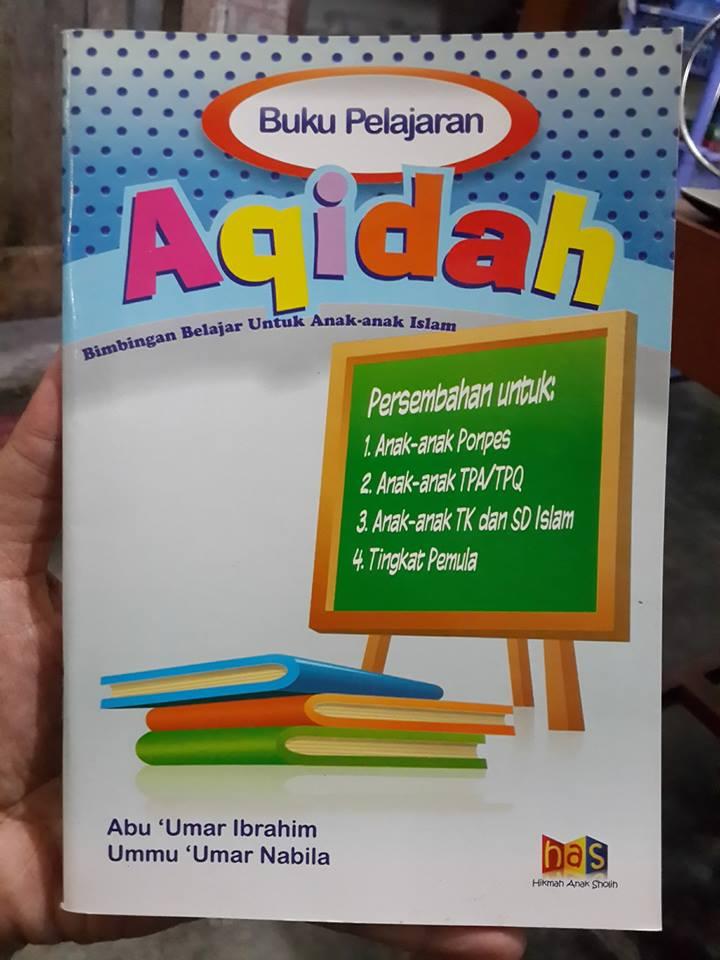 Buku Anak Pelajaran Aqidah Anak Islam Cover