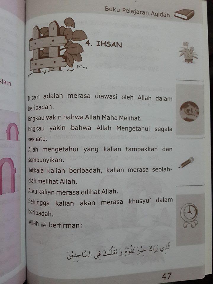 Buku Anak Pelajaran Aqidah Anak Islam Isi