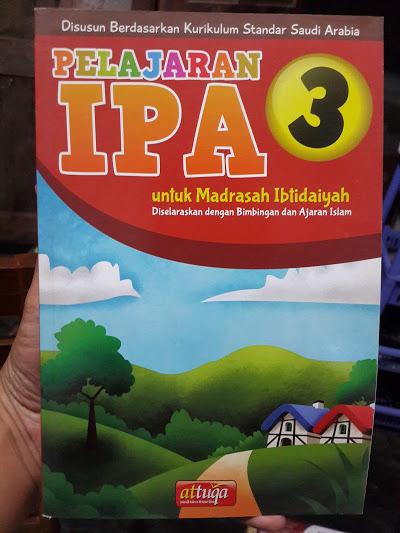 Buku Pelajaran IPA Untuk Madrasah Ibtidaiyah Cover