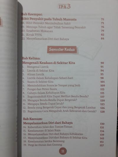 Buku Pelajaran IPA Untuk Madrasah Ibtidaiyah Isi 2