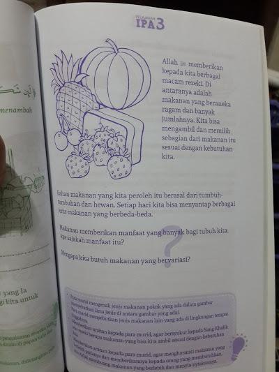 Buku Pelajaran IPA Untuk Madrasah Ibtidaiyah Isi