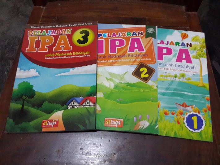 Buku Pelajaran IPA Untuk Madrasah Ibtidaiyah Set