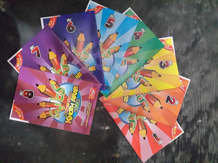 Buku Pelajaran Menulis Khoth Arab Naskhi Set
