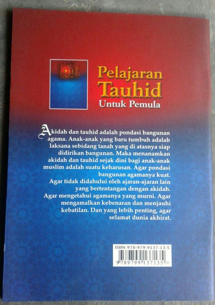 Buku Pelajaran Tauhid Untuk Pemula cover 2