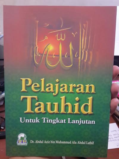 Buku Pelajaran Tauhid Untuk Tingkat Lanjutan Cover