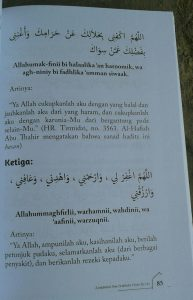 Buku Pembuka Pintu Rezeki isi 3