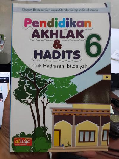 Buku Pendidikan Akhak Dan Hadits Untuk Madrasah Ibtidaiyah Cover